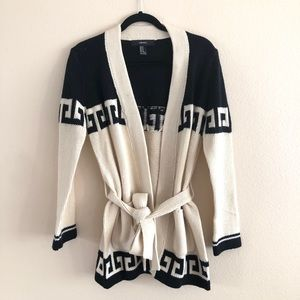 Forever21 Knit Cardigan with Tie
